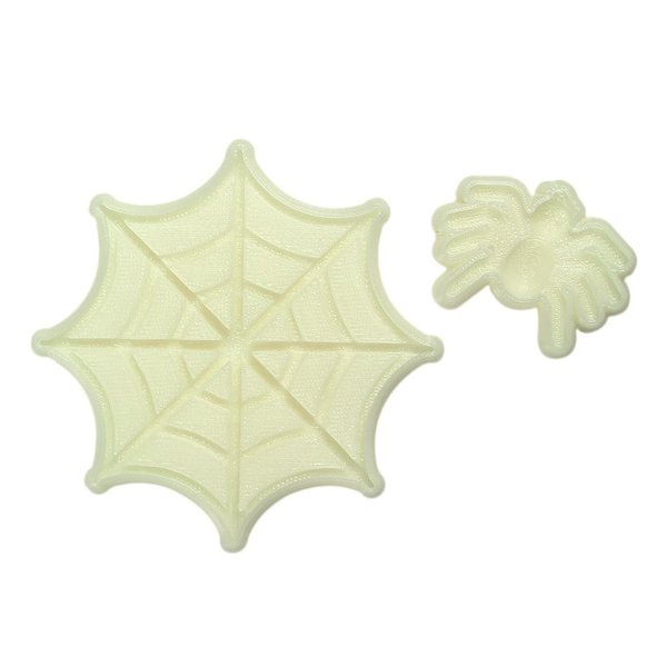 JEM - Spider and Web Pop it! Mould Set of 2