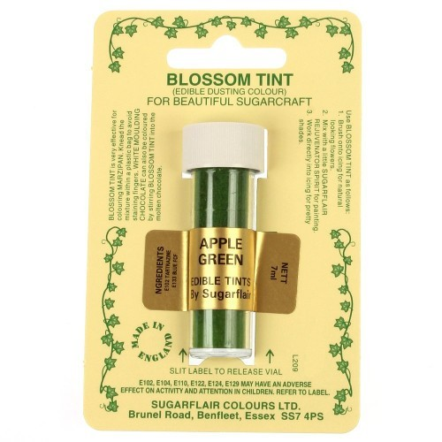 Sugarflair - Apple Green Blossom Tint Dusting Colour