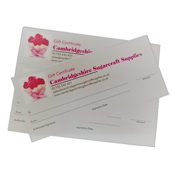 £150 Gift Certificate