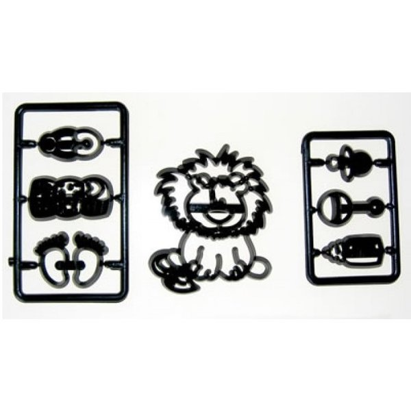 Patchwork Cutters - Baby Lion & Nursery Set