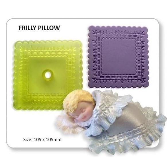 JEM - Frilly Pillow / Blanket