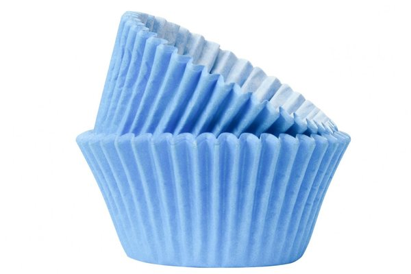 Doric 50 Baby Blue Muffin Cases