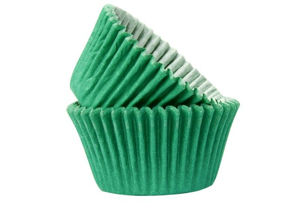 Doric 50 Green Muffin Cases