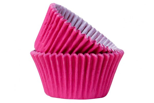 Doric 50 Hot Pink Muffin Cases