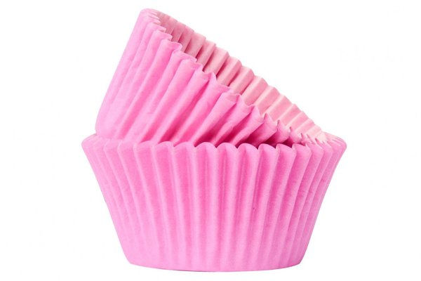 Doric 50 Baby Pink Muffin Cases