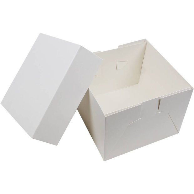 "9"" Cake Box with Lid"