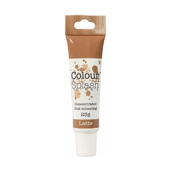 Colour Splash - Latte Food Colouring Gel 25g