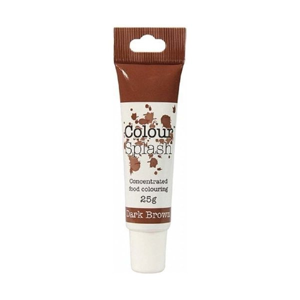 Colour Splash - Dark Brown Food Colouring Gel 25g