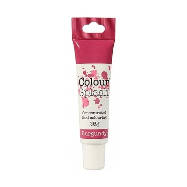 Colour Splash - Burgundy Food Colouring Gel 25g