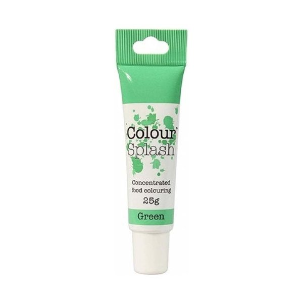 Colour Splash - Green Food Colouring Gel 25g