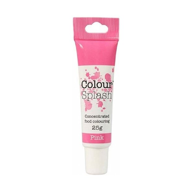 Colour Splash - Pink Food Colouring Gel 25g