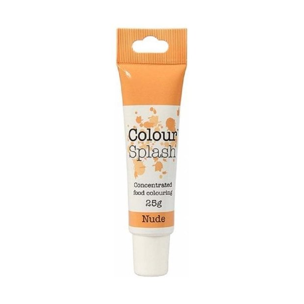 Colour Splash - Nude Food Colouring Gel 25g