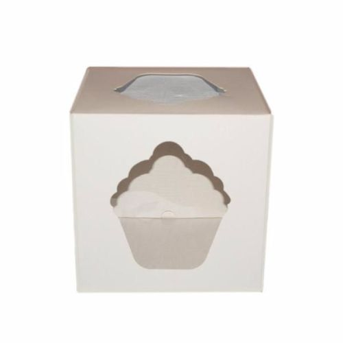 Giant Cupcake Box - White