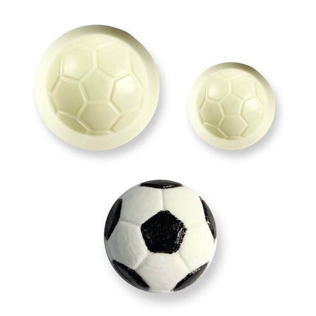 JEM - Football Pop it! Mould Set of 2