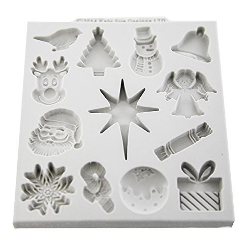 Katy Sue - Christmas Embellishments Mould