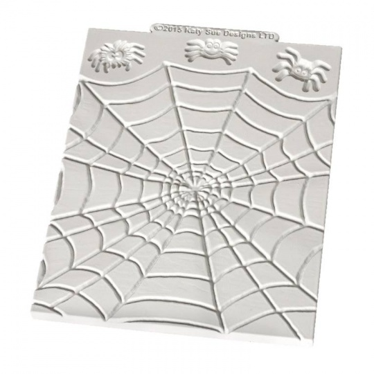 Katy Sue - Spiders & Web Silicone Mould