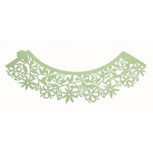 PME -  Floral Light Green Cupcake Wrappers