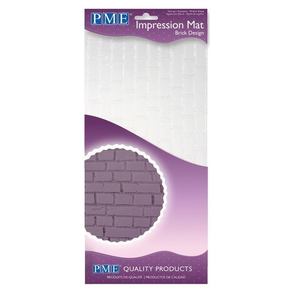 PME - Brick Effect Impression Mat