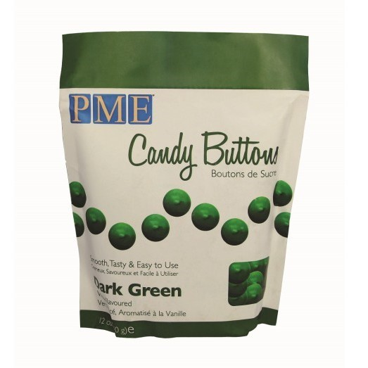 PME - Dark Green Candy Buttons