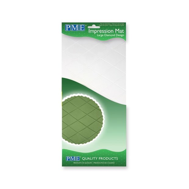 PME - Large Diamond Effect Impression Mat