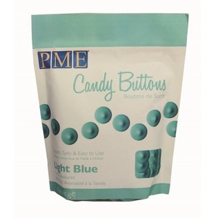 PME - Light Blue Candy Buttons