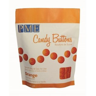 PME - Orange Candy Buttons