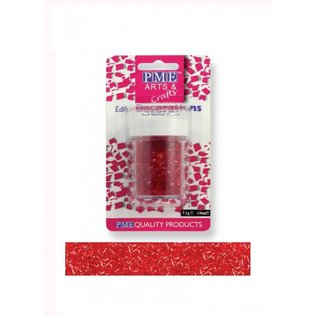 PME - Red Glitter Flakes
