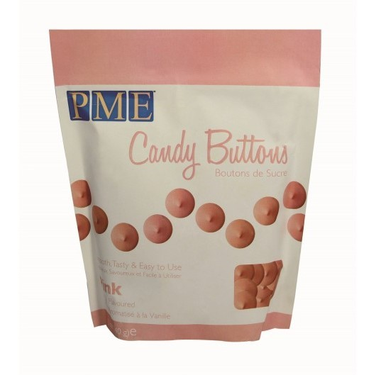 PME - Pink Candy Buttons