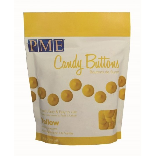 PME - Yellow Candy Buttons