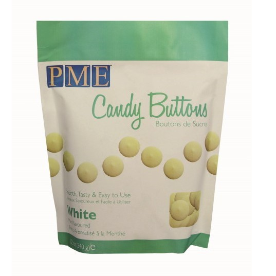 PME - White Candy Buttons