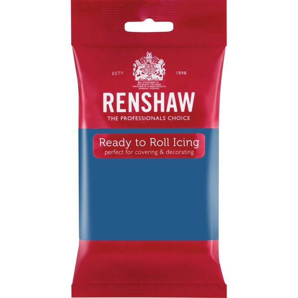 Renshaw Atlantic Blue Ready to Roll Icing 250g