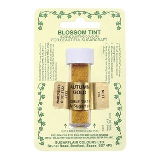 Sugarflair - Autumn Gold Blossom Tint Dusting Colour