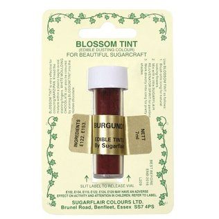 Sugarflair - Burgundy Blossom Tint Dusting Colour