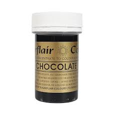 Sugarflair - Chocolate Spectral Paste Gel Food Colouring 25g