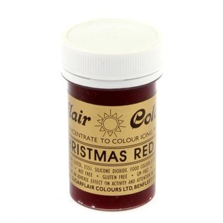 Sugarflair - Christmas Red Spectral Paste Gel Food Colouring 25g