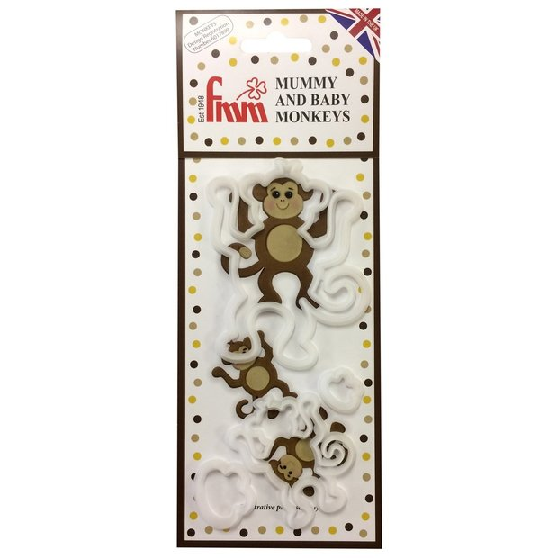 FMM - Mummy and Baby Monkey set