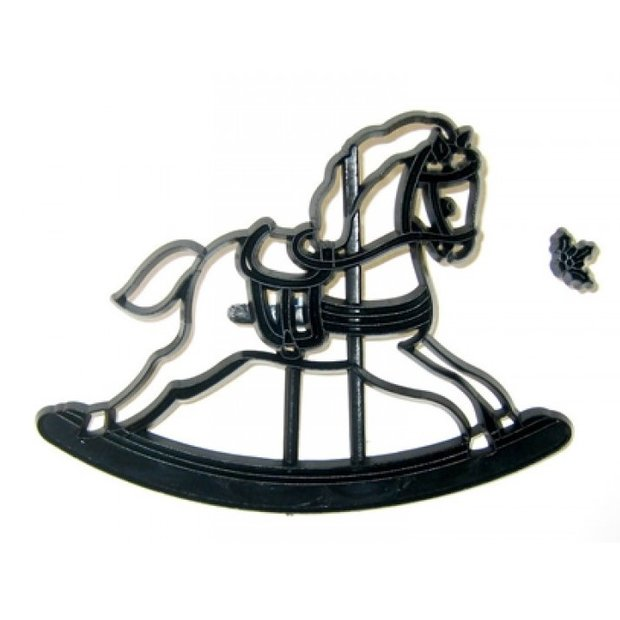 Patchwork Cutters - Rocking Horse