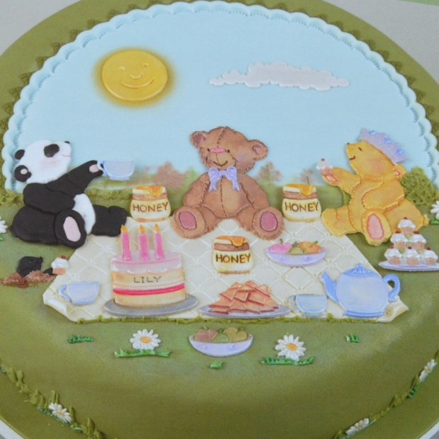Patchwork Cutters - Teddy Bears Picnic