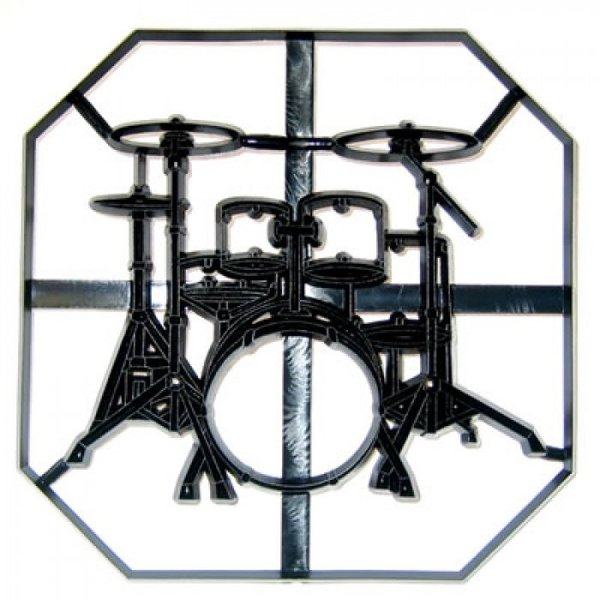 Patchwork Cutters - Drum Kit Plaque