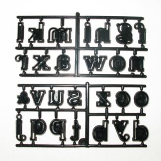 Patchwork Cutters - Large Alphabet (Lower Case)