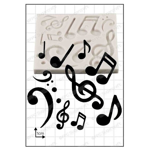 FPC Sugarcraft - Musical Notes