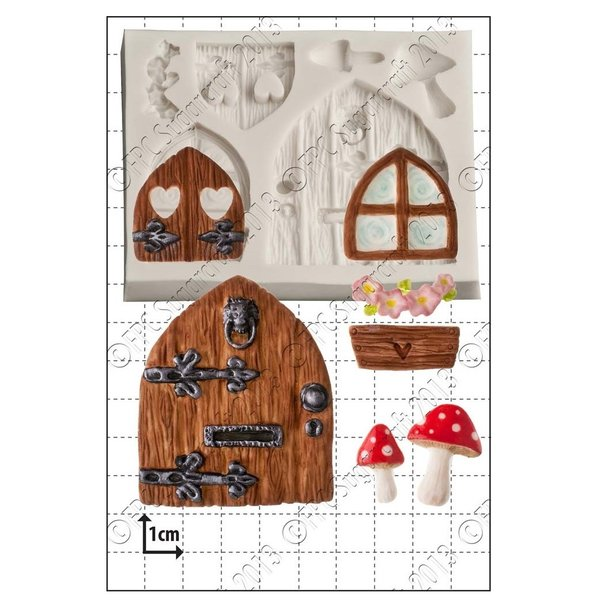 FPC Sugarcraft - Fairy Door and Windows