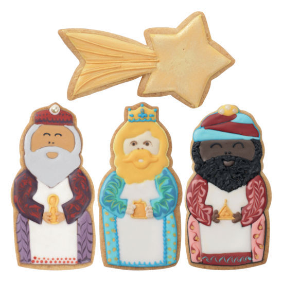 Squires Kitchen - 3 Kings Cookie Cutter Set